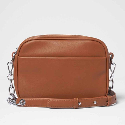 Urban Originals Mindful Crossbody Bag Rust