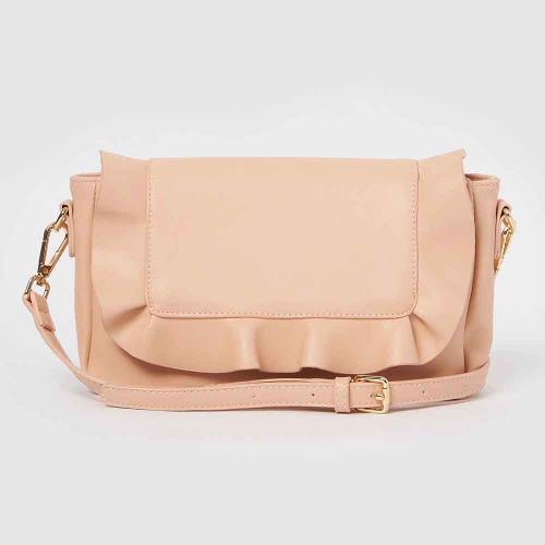 Urban Originals Frill Clutch - Blush