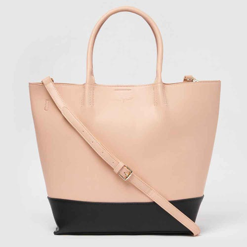 Urban Originals Revenge Tote - Pink/ Black