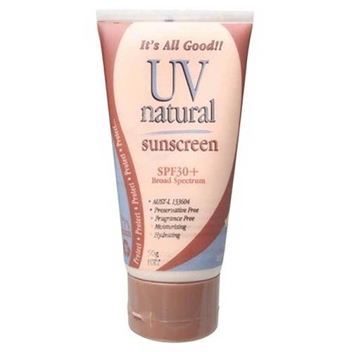 UV Natural Vegan Sunscreen SPF30+ (50g)