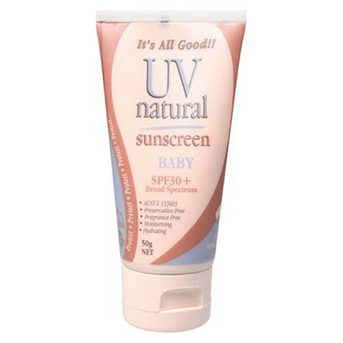 UV Natural Vegan Sunscreen Baby SPF30+ (50g)