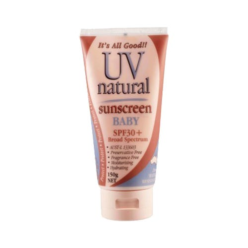 UV Natural Sunscreen Baby SPF30+ (150g)