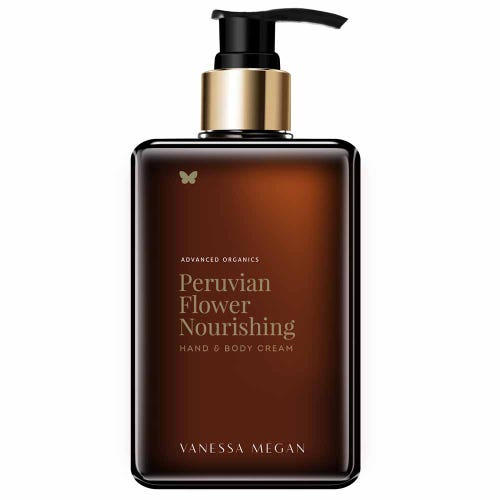 Vanessa Megan Peruvian Flower Hand and Body Cream (280ml)