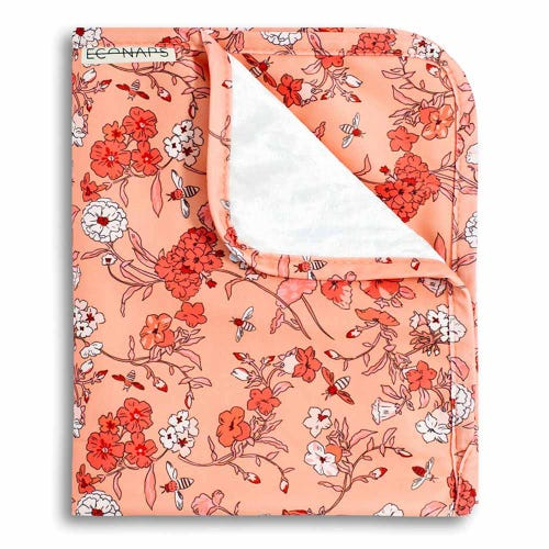 EcoNaps Travel Change Mat - Vintage Blossoms