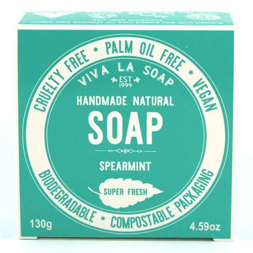 Viva La Body Soap Spearmint (130g)
