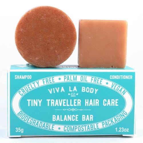 Viva La Body Tiny Traveller Haircare Set - Balance Bar (32g)