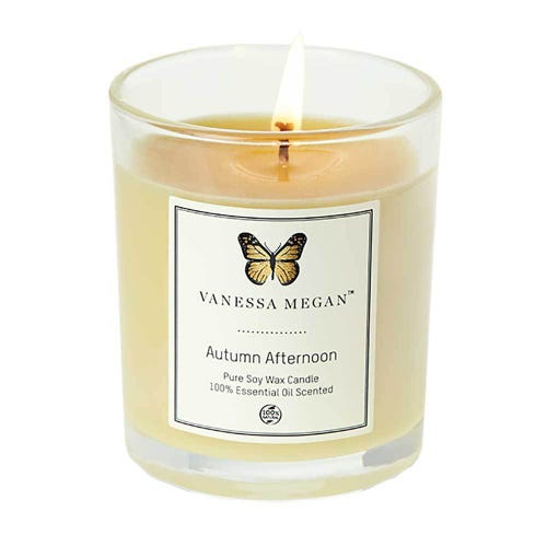 Vanessa Megan Soy Wax Candle Autumn Afternoon (220g)