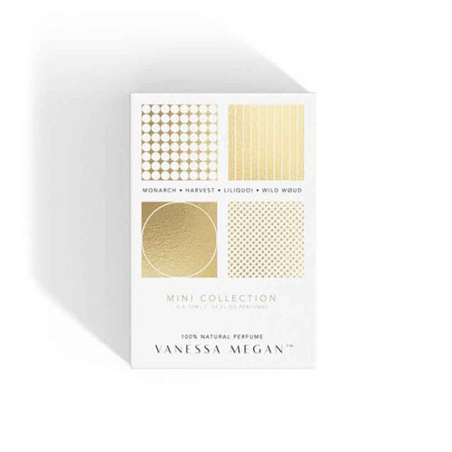 Vanessa Megan Natural Perfume Mini Collection (4 x 10ml)