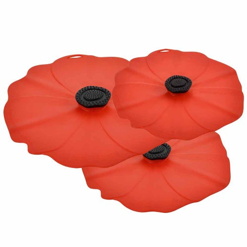 Charles Viancin Poppy Lid 3 Pack - Save 20%