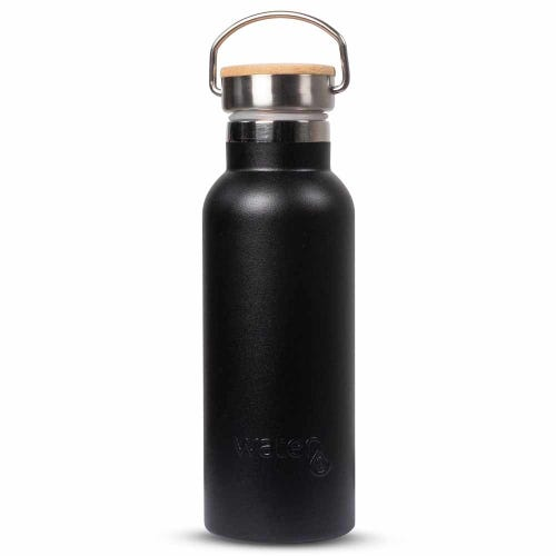 Water3 Insulated Water Bottle 500ml - Black