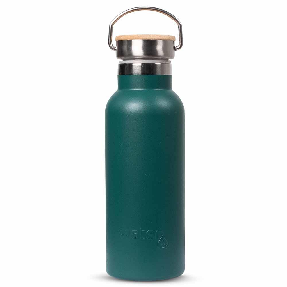 Water3 Insulated Water Bottle 500ml - Dark Green