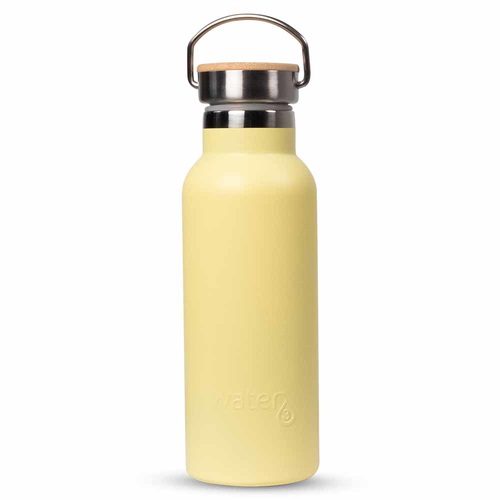 Water3 Insulated Water Bottle 500ml - Lemon