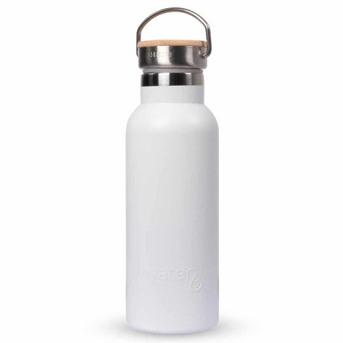 Water3 Insulated Water Bottle 500ml - White