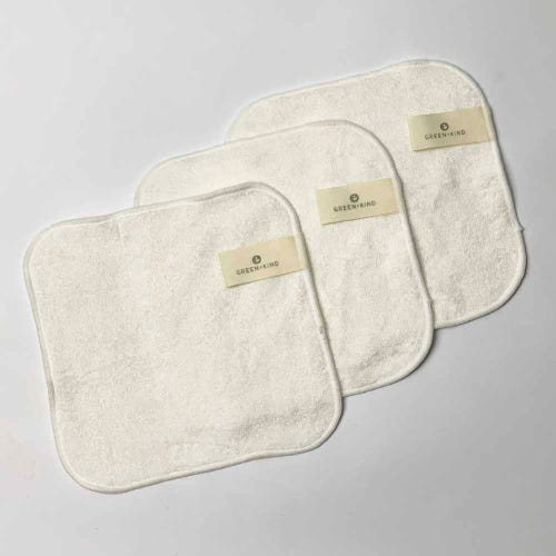 Reusable Bamboo Face Cloth 3 Pack