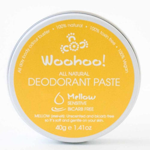 Woohoo! Deodorant Paste Mellow Sensitive - In a Tin (40g)
