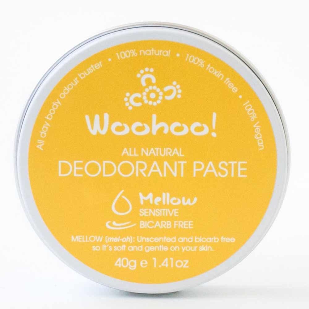 Woohoo! Deodorant Paste Mellow Sensitive - In a Tin (40g)