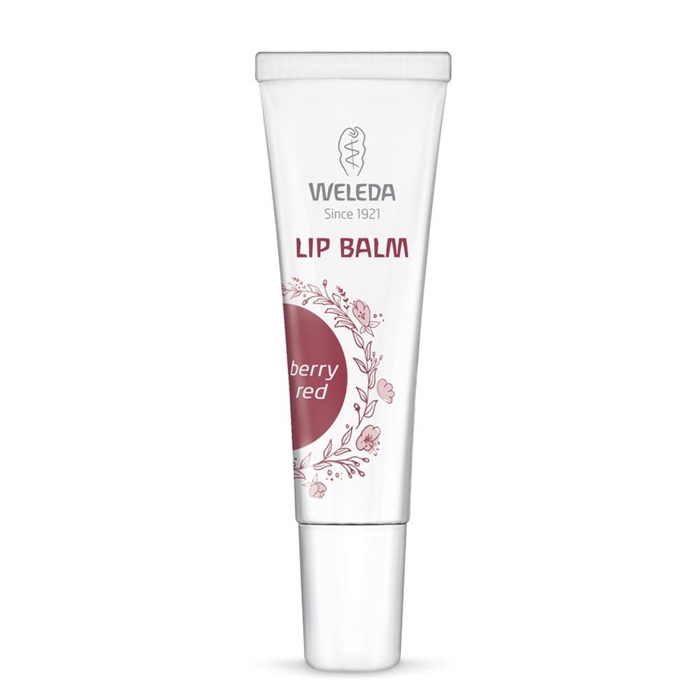 Weleda Vegan Lip Balm - Berry Red (10ml)