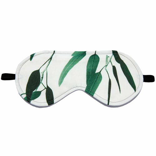 Wheatbags Love Eye Mask Gum Green