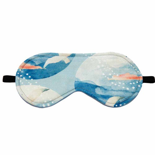 Wheatbags Love Eye Mask Seaside