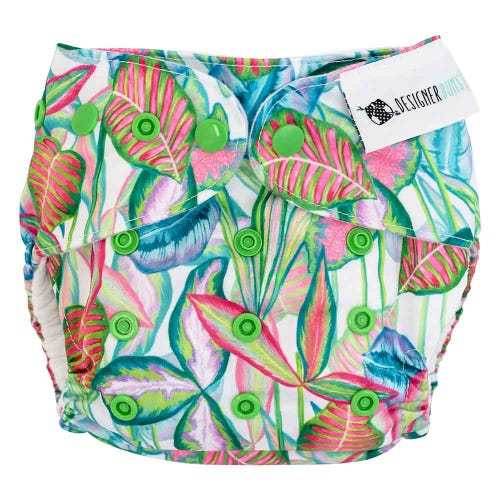 Designer Bums Reusable Nappy - Whitsundays