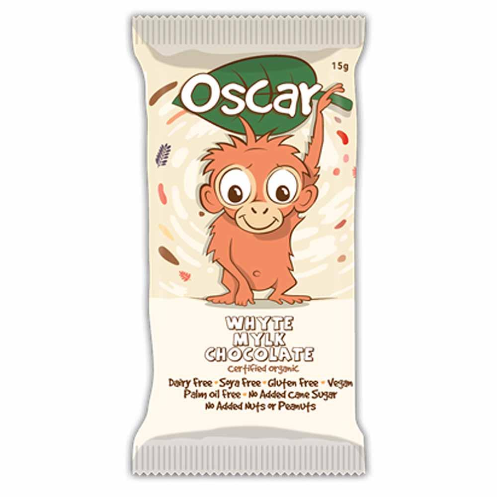The Chocolate Yogi Oscar Whyte Chocolate Bar (15g)