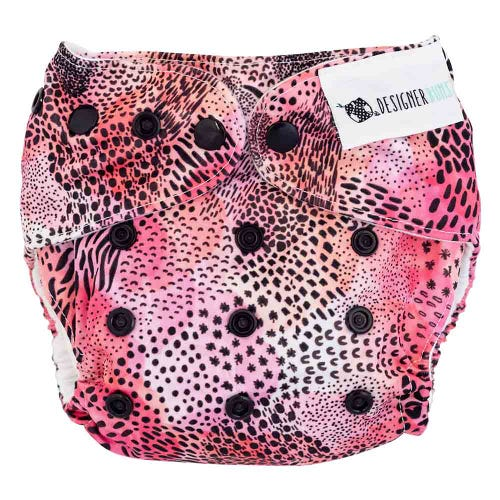 Designer Bums Reusable Nappy - Wild Things