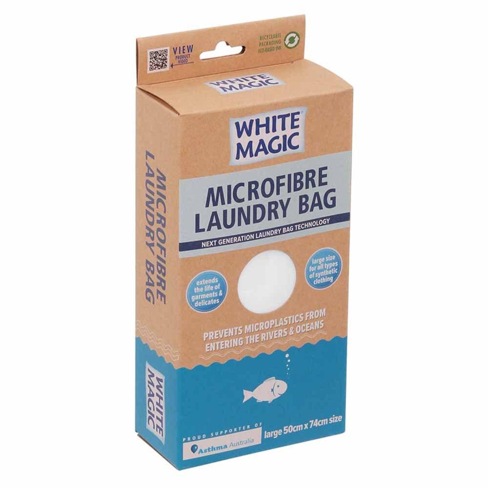 White Magic Microfibre Laundry Bag