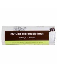 WOTNOT Biodegradable Bin Liners 30L