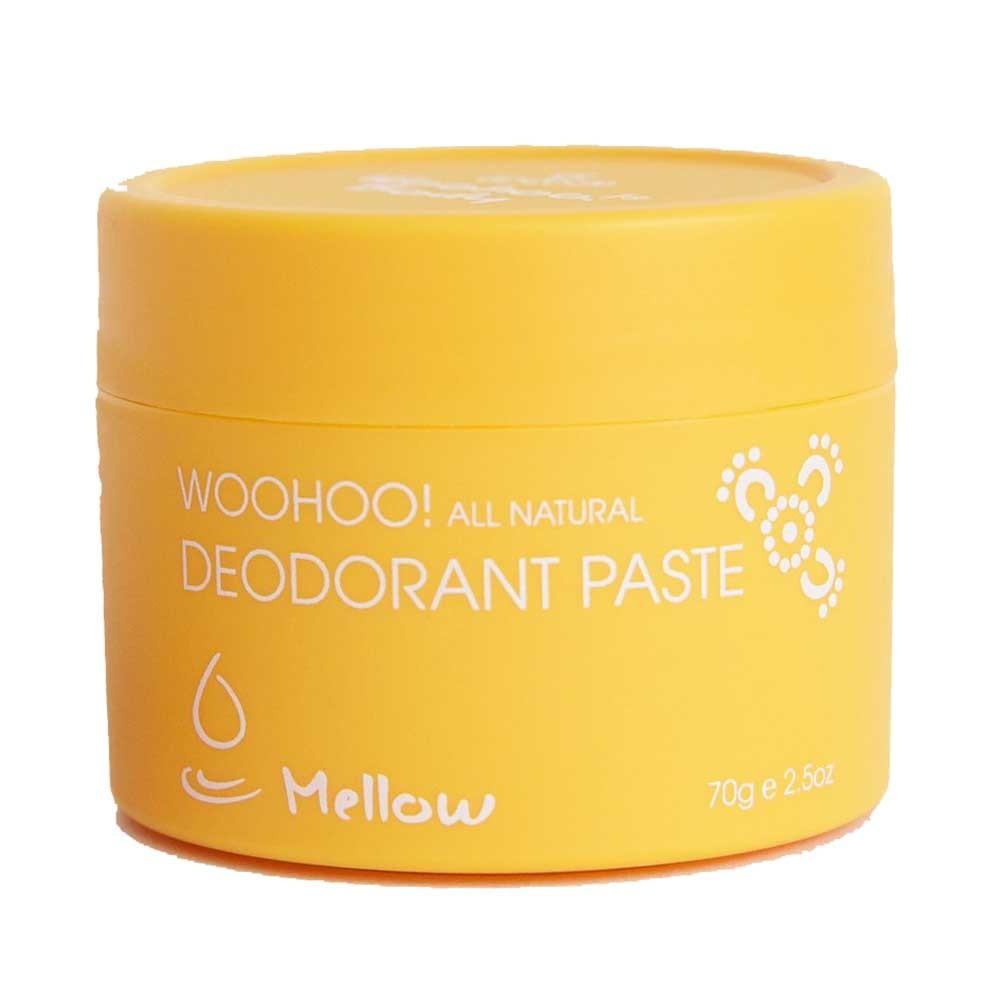 Woohoo! Deodorant Paste Mellow Unscented (70g)