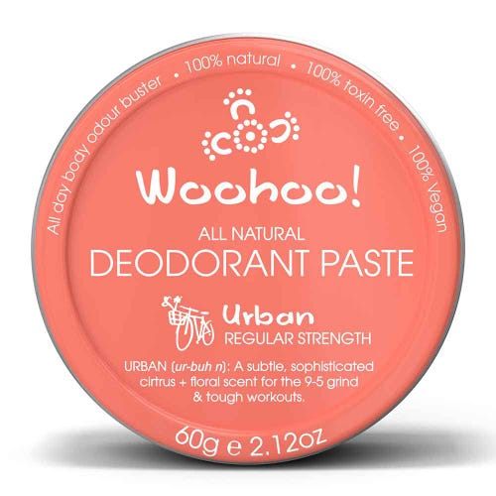Woohoo! Deodorant Paste Urban - In a Tin