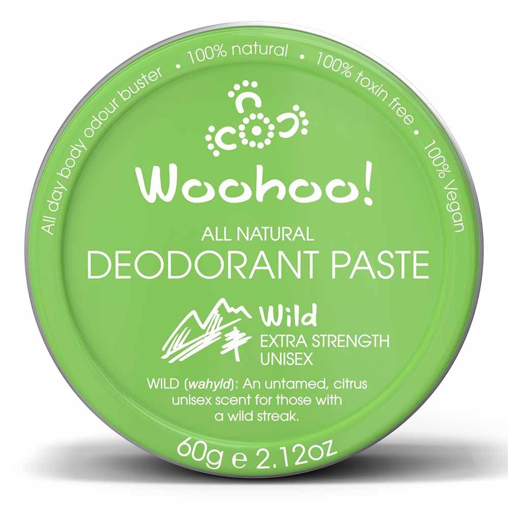 Woohoo! Deodorant Paste Wild - In a Tin