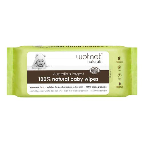 WOTNOT Biodegradable Baby Wipes