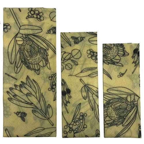 Wrappa Vegan Organic Cotton Wrap - Botanicals