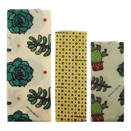 Wrappa Vegan Organic Cotton Wrap - Cacti & Succulents
