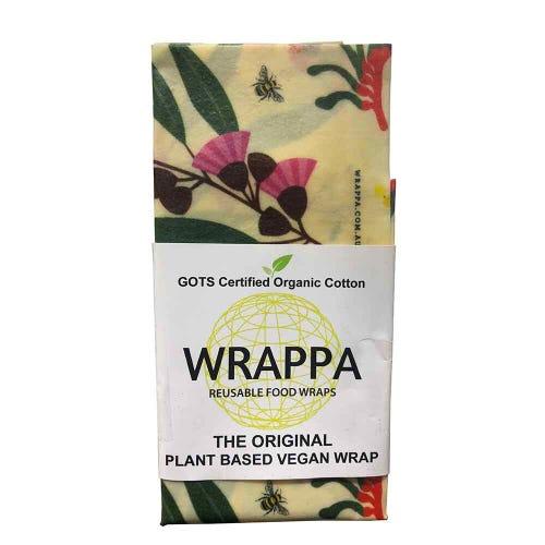 Wrappa Vegan Jumbo Food Wrap - Bees