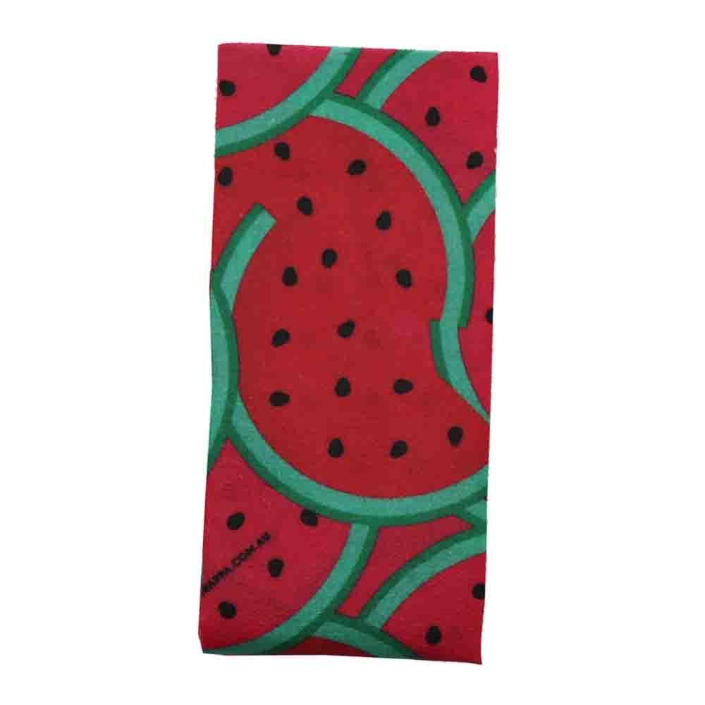Wrappa Vegan Jumbo Organic Cotton Wrap - Watermelon