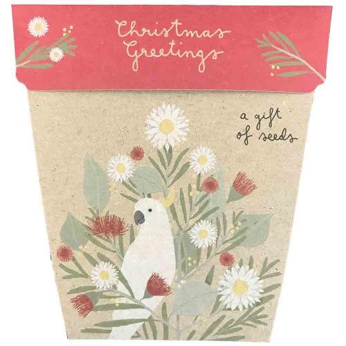 Sow n Sow Gift of Seeds - Christmas Greetings