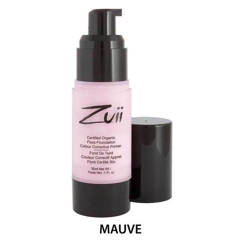 Zuii Organic Colour Corrective Primer - Mauve (30ml)