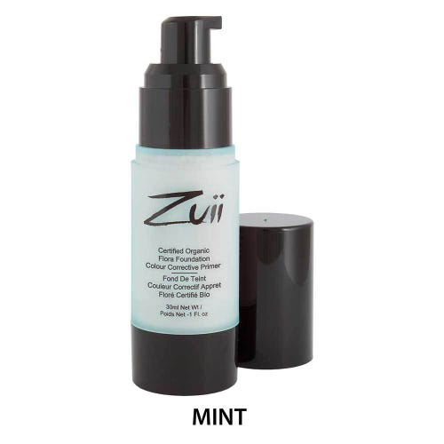 Zuii Organic Colour Corrective Primer - Mint (30ml)