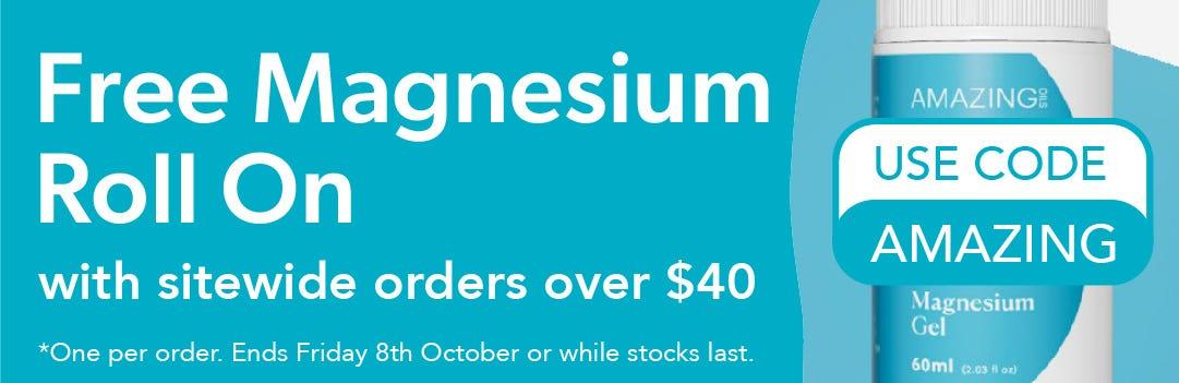 Free Magnesium Roll On