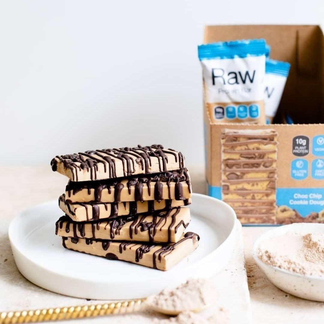 Amazonia Raw Protein Bar - Choc Chip Cookie Dough