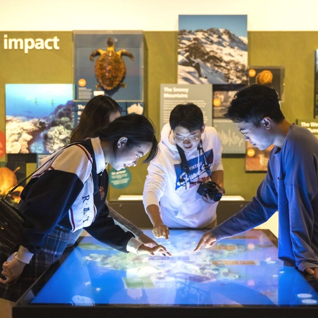 Australian Museum Spark Climate Change Exhibition