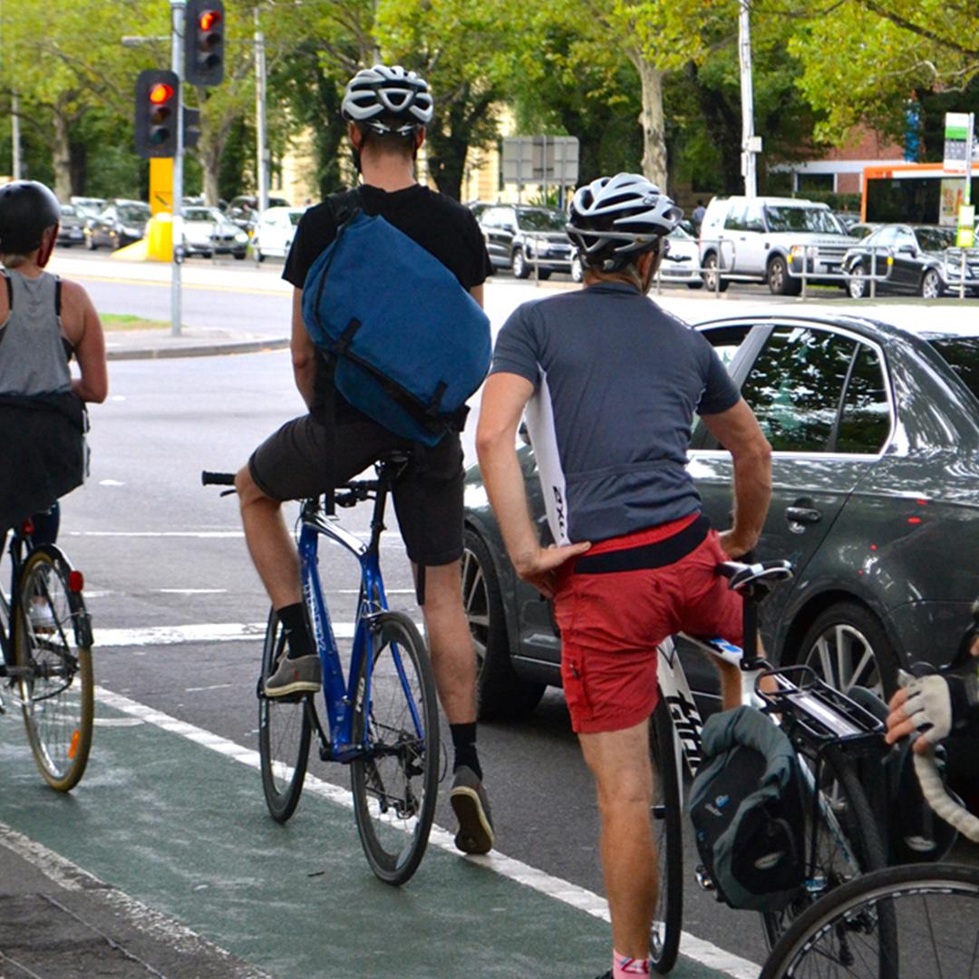Australians Biking To Work