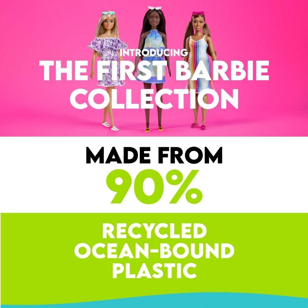 Barbie Dolls Recycled Plastic