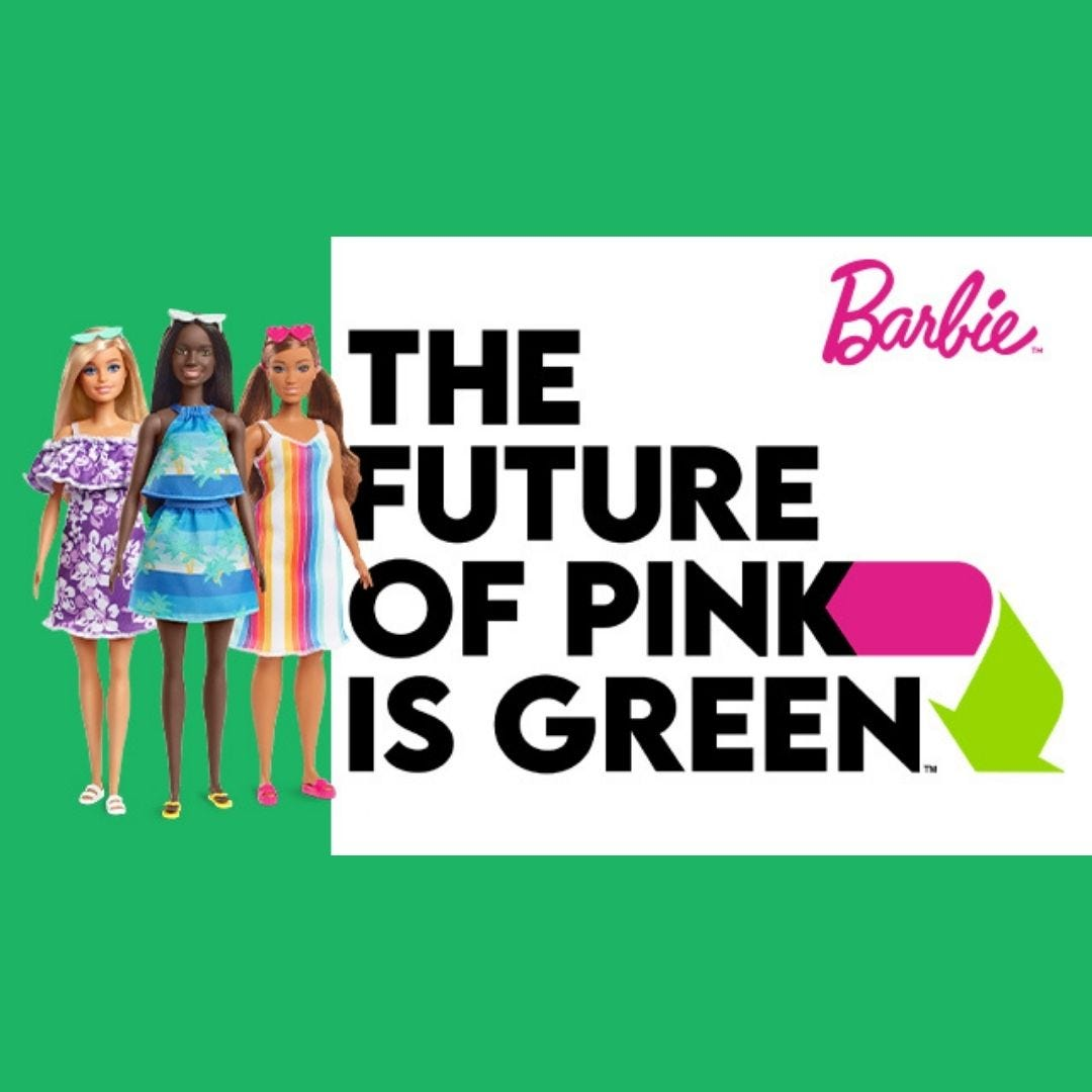 Barbie The Future Of Pink Is Green