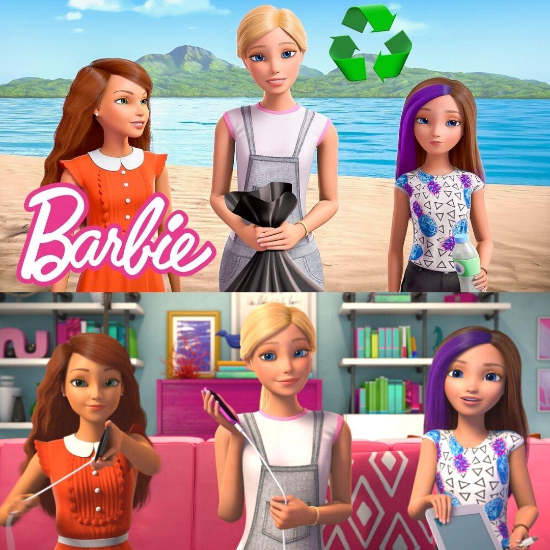 Barbie Eco Sustainable Vlog