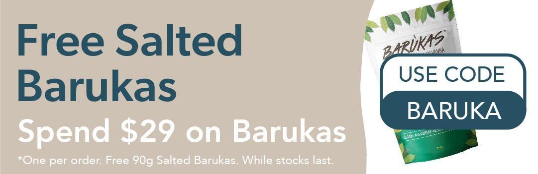 Free Salted Barukas