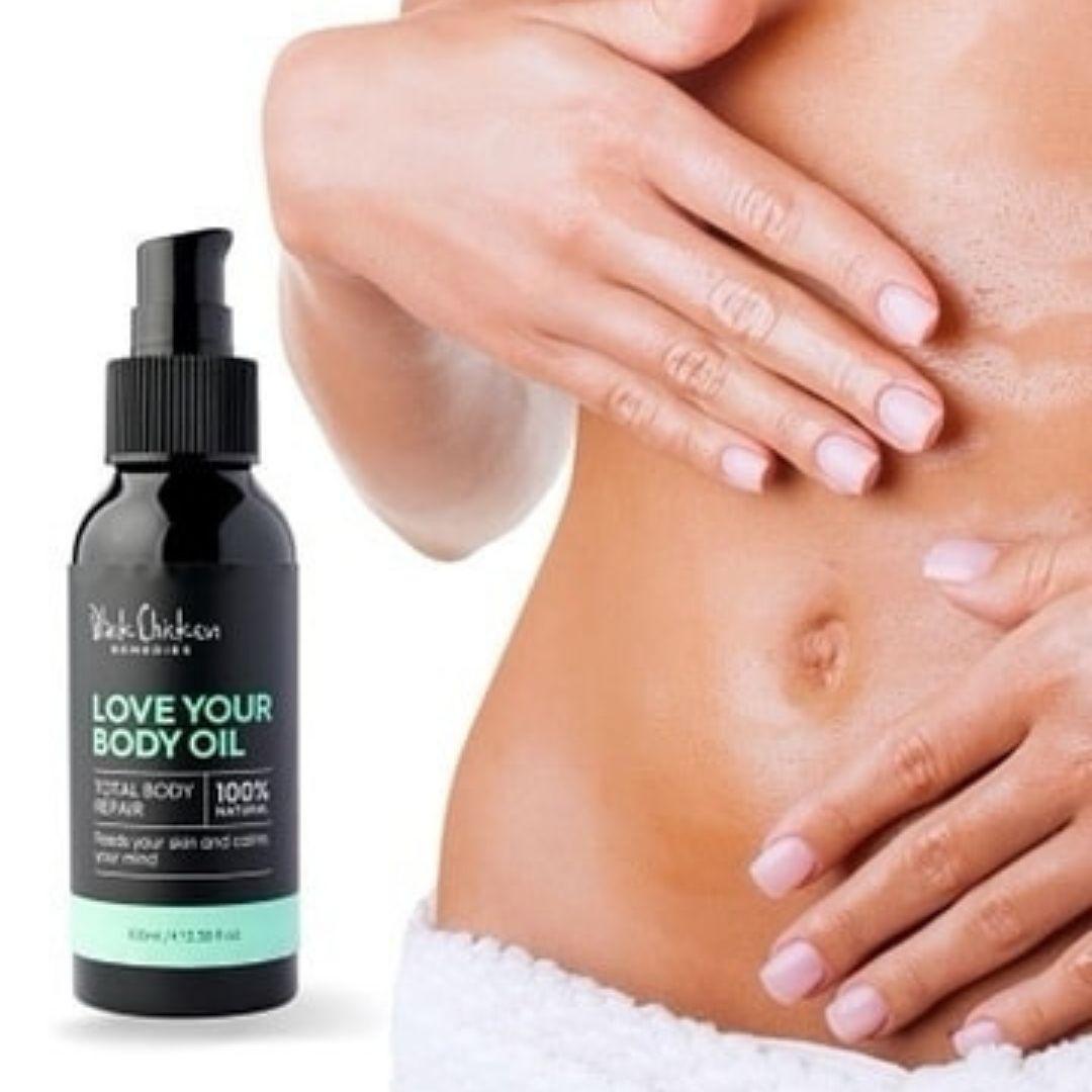 Black Chicken Love Your Body Oil