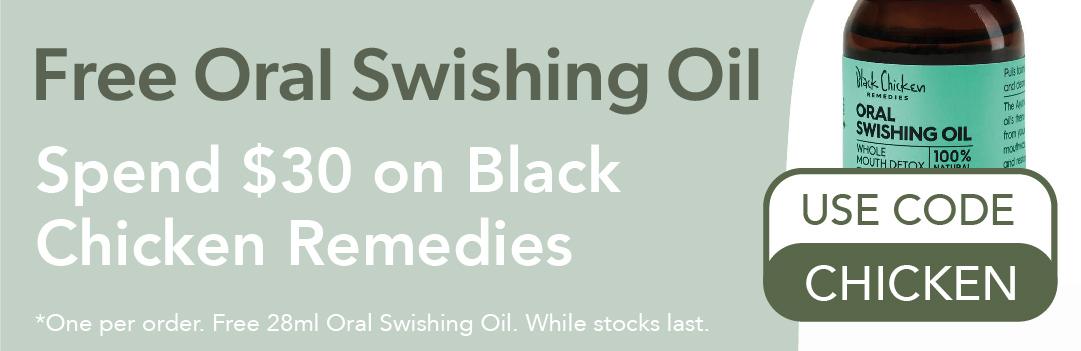 Free Oral Swishing Oil
