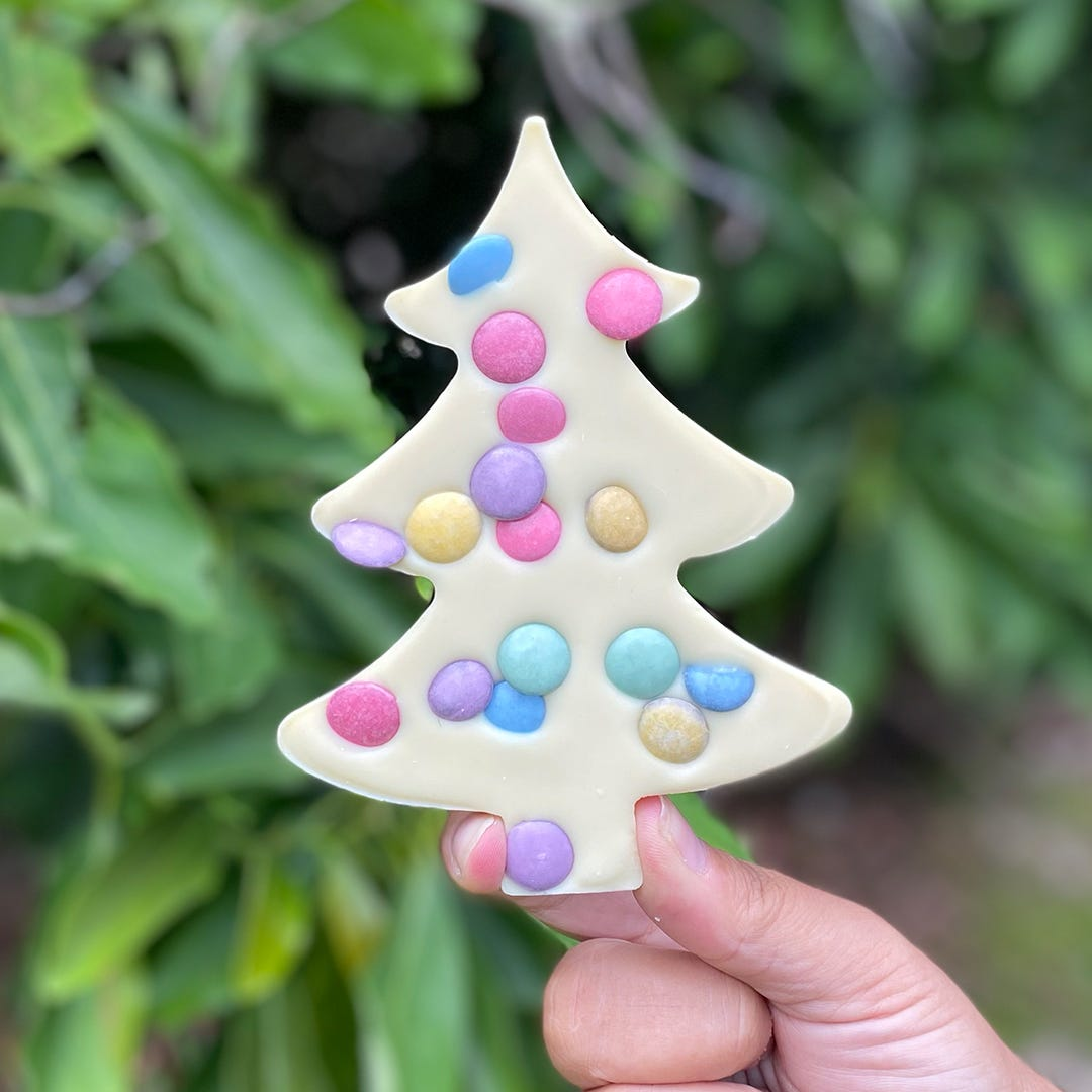 Bonvita Vegan White Christmas Tree Confetti (90g)